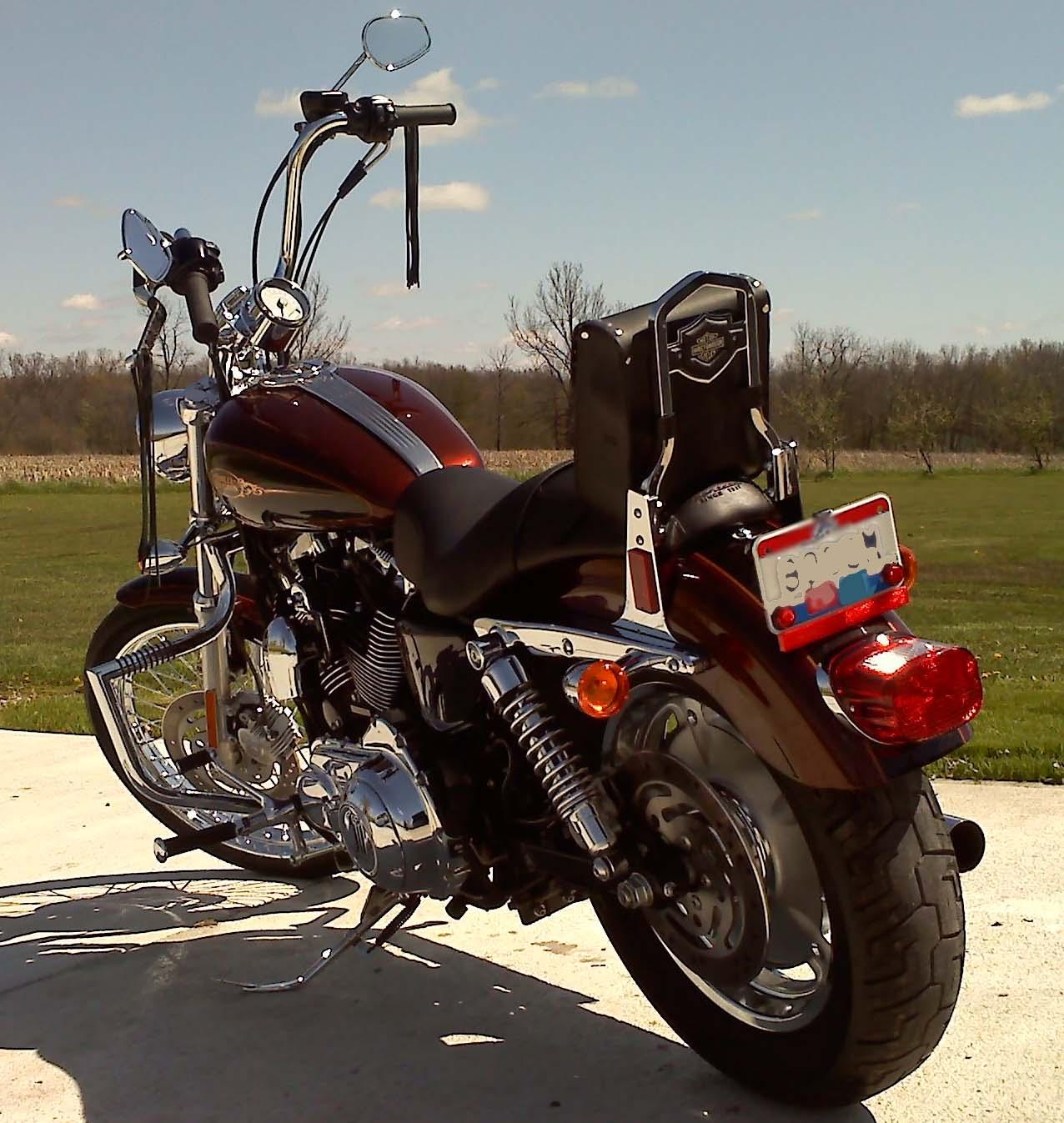 Best motorcycle handlebars - 2009 1200c Harley Davidson Sportster W Mini Ape Handlebars