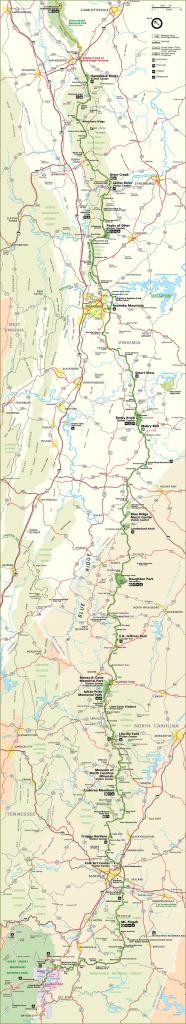 Blue Ridge Parkway Map