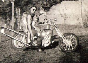 dads chopper 1960s