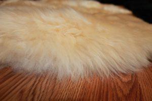 Density of the long wool sheepskin