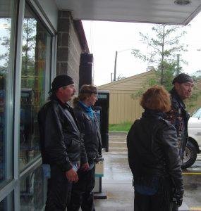 Gas stop rest South Dakota