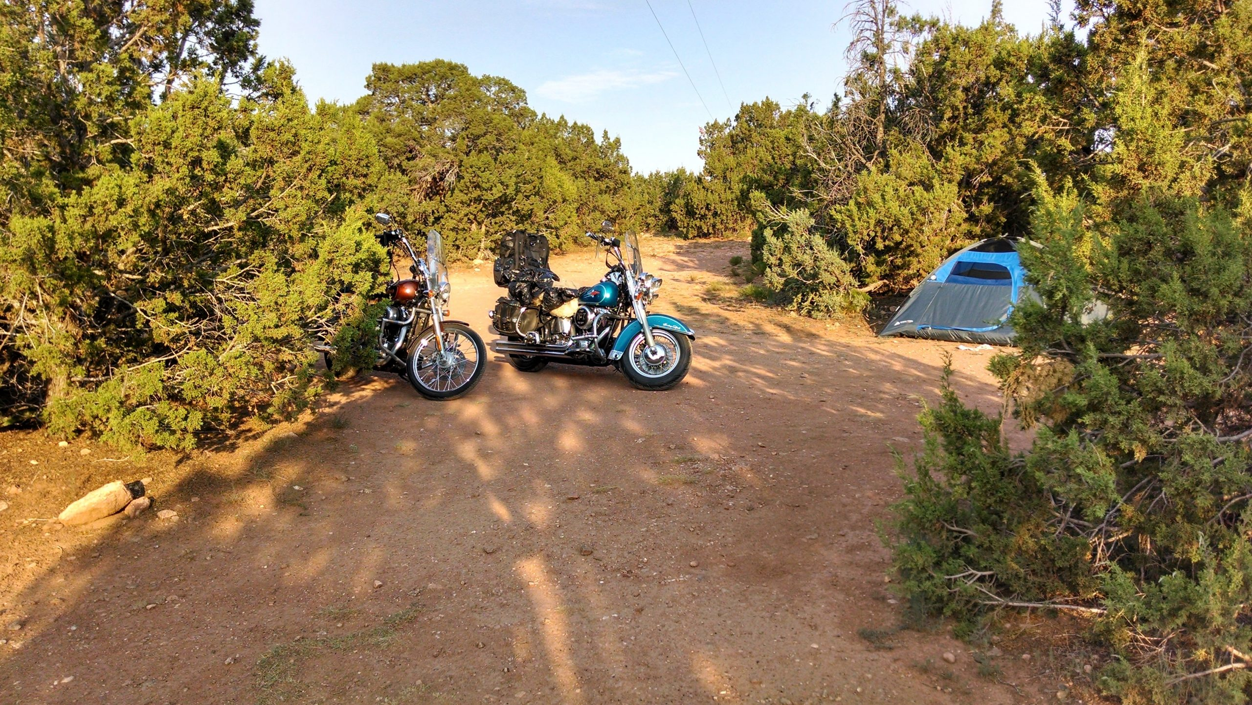 desert campground in colorado