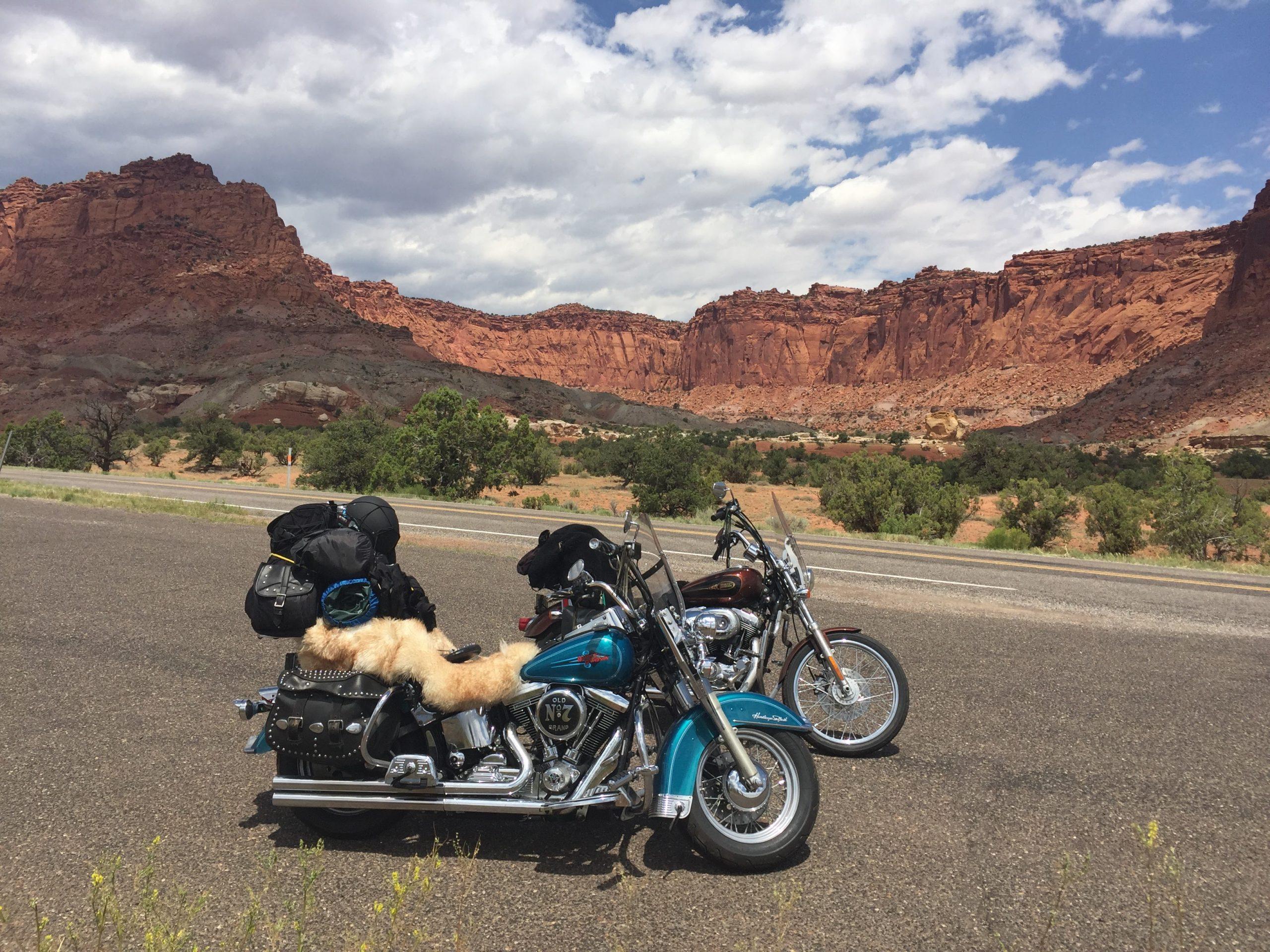 Utah - motorcycle road trip heaven