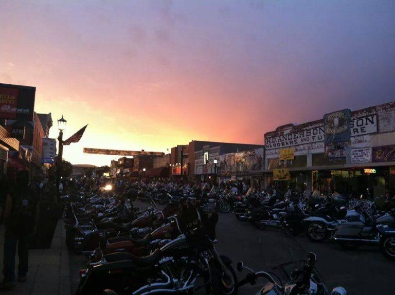 Main Street Sturgis motorcycle rally