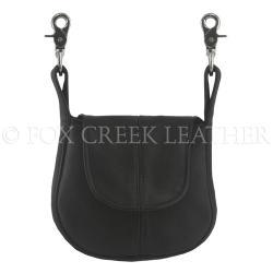 Fox Creek leather belt purse