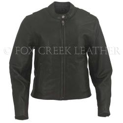 fox creek leather riding jacket